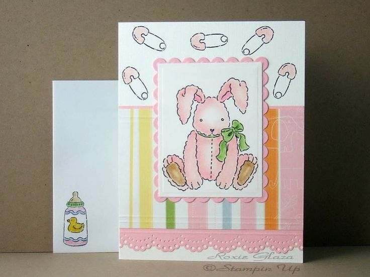 Baby shower homemade card ideas pinterest for Baby shower paper crafts