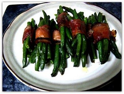 Recipe Prosciutto Wrapped Green Beans by Ashley's Little Kitchen ...