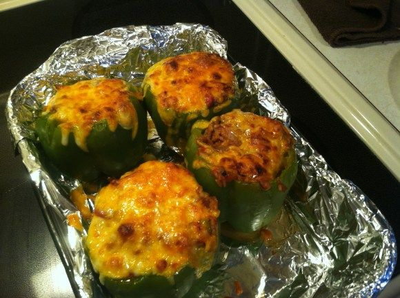 Stuffed Peppers | Side Dishes | Pinterest