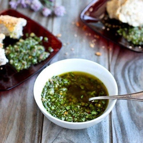 Italian Salsa Verde HealthyAperture.com | Yummy Savory | Pinterest