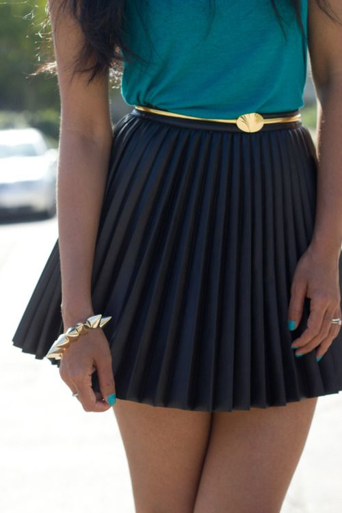 cute skirt and belt