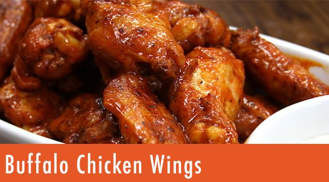... Buffalo Chicken Wings. The perfect appetizer or snack for game day