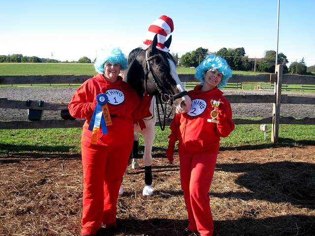 Cat in the Hat Thing 1 and Thing 2 | Horse Stuff | Pinterest