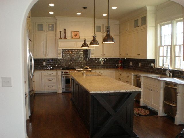 And Hood Second Sink Layout Beautiful Craftsman Style Kitchen