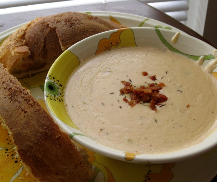 Six in the Suburbs: Cheddar Ale Soup | Soups | Pinterest