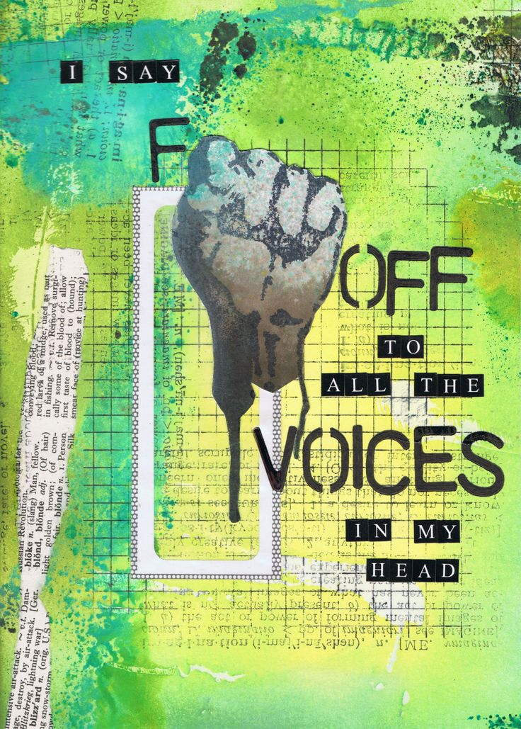 'Voices' - Art Journal http://inkyfingersstore.blogspot.com.au/ sissy sparrows stamp
