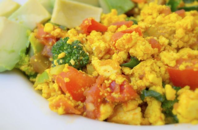 Southwestern Tofu Scramble | Food and Recipes | Pinterest