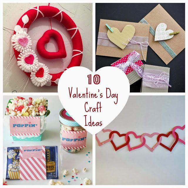 10 #DIY #ValentinesDay #crafts #celebrate