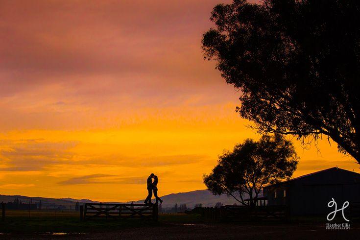 Waipara Valley Farm Engagement Photoshoot | Heather Ellis Photography