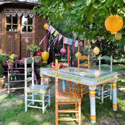 Bohemian Style Backyards : Backyard Bohemia  bOHO  Pinterest