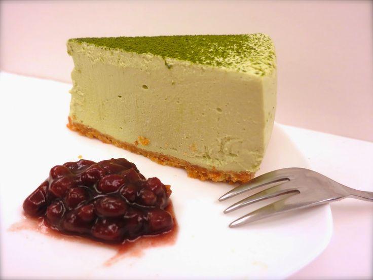 Green Tea Cheesecake With Raspberries And Raspberry-Mint ...