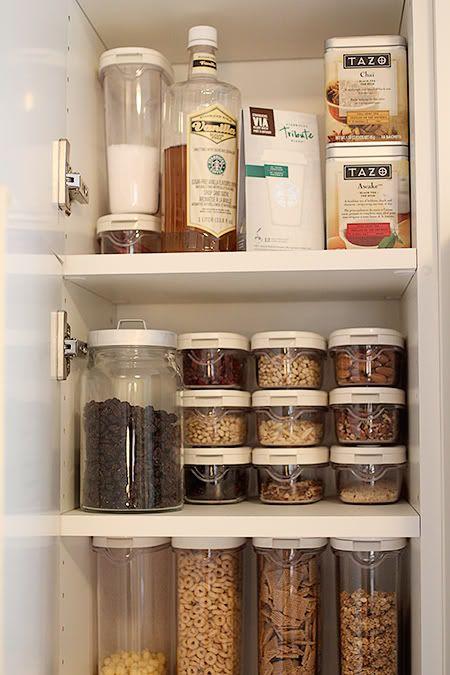Kitchen Cabinet Organization Organization Pinterest