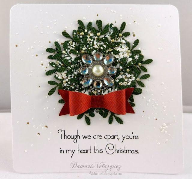 Pinterest cricut christmas card ideas for Elegant christmas card ideas