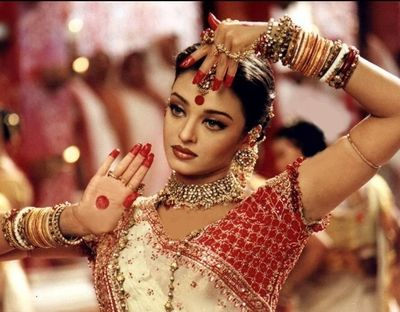 Indian necklace worn by Aishwarya Rai in Devdas