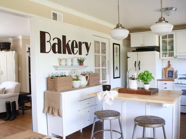 Farmhouse Chic Kitchen Ideas Homestead Decor Pinterest