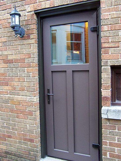 Exterior steel doors outswing for the home pinterest for Steel home entry doors