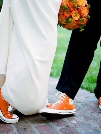 trampki do ślubu