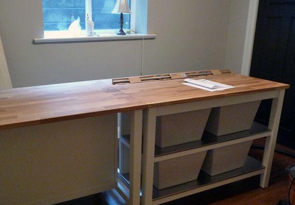 Ikea Kitchen Island Craft Room