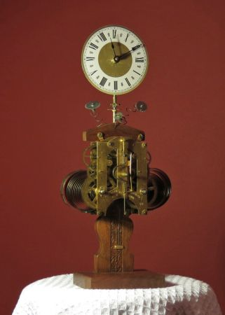 Pin by margaret sommerville on my repurposed lamps and clocks pinte - Steampunk mantle clock ...