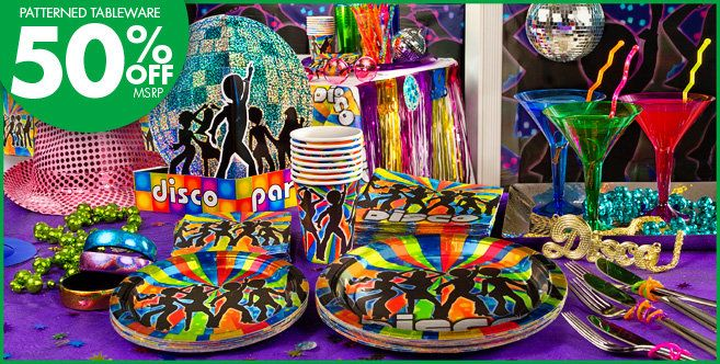 70 39 s disco party supplies party city 70 39 s theme party for 70 s decoration ideas party