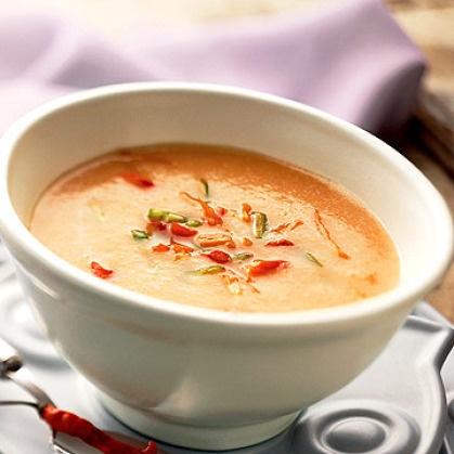 Iced Cantaloupe Soup With Jalapeno And Basil Recipes — Dishmaps