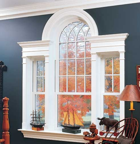 Story Foyer Window Treatment Ideas : Palladian window on foyer nd story curtains drapes