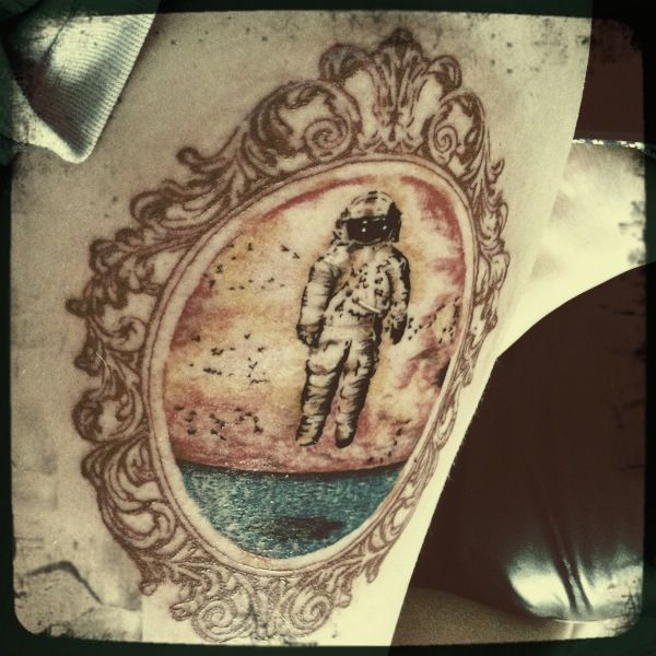 brand new astronaut tattoo-#35