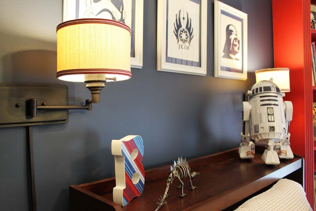 Comstar Wars Kids Rooms : Big kid Star Wars room. :)  Wee Ones  Pinterest