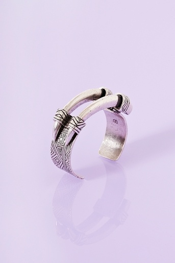 Engraved Horn Cuff - Honestly, it is kinda cool looking! would make a cool ring too!