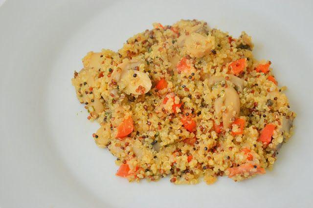 Quinoa and Mushroom Pilaf | My Blog - Palavras que enchem a barriga ...