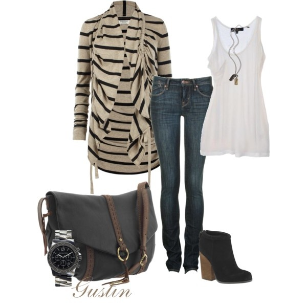 PTO meeting, created by #gustinz on #polyvore. #fashion #style All Saints #Kain