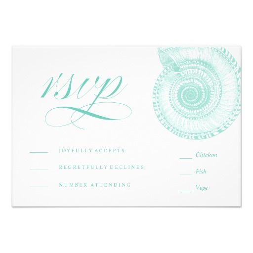 Sea Themed Wedding Invitations for beautiful invitation design