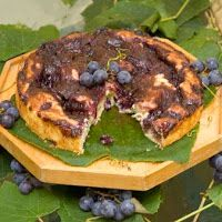 Concord Grape Kuchen from Nancy Baggett's Kitchenlane: The Concord ...