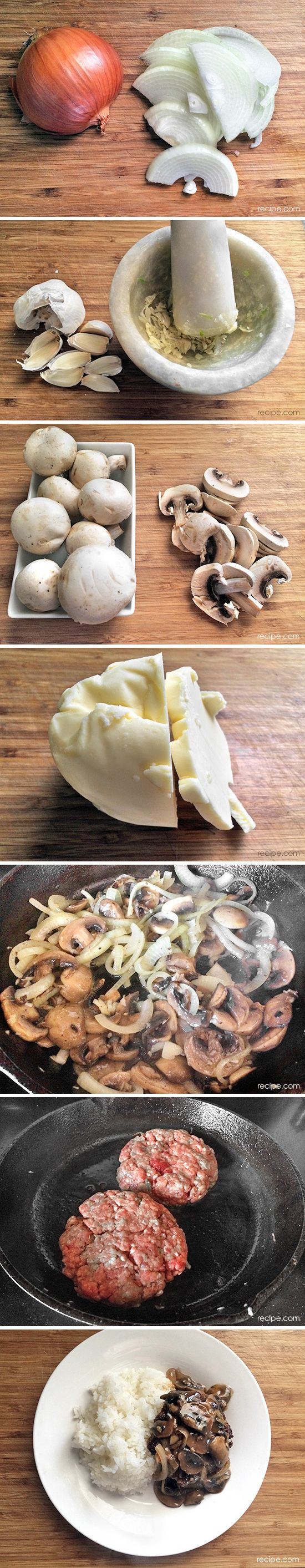 How to Make Beef with Burgundy Mushrooms | Yummy Food | Pinterest