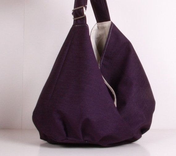 Purple Hobo Bag