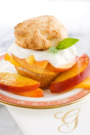 peach shortcake recipe Paula Deen | Decadent Deserts | Pinterest