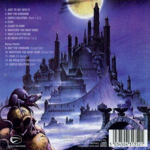 Nazareth No Mean City Album Cover Album Art Amp Gig