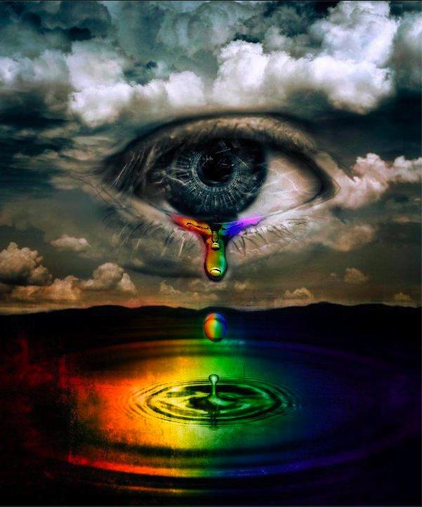 Rainbow Tears   SPIEGEL DER SEELE >EYES