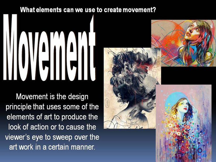 Movement Element Of Art : Principles of art movement elements and