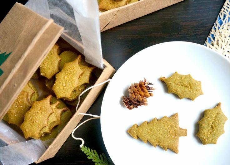 Matcha Green Tea Shortbread Cookies | Favorite Recipes | Pinterest