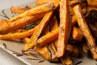 Rosemary Garlic Sweet Potato Fries | food. | Pinterest
