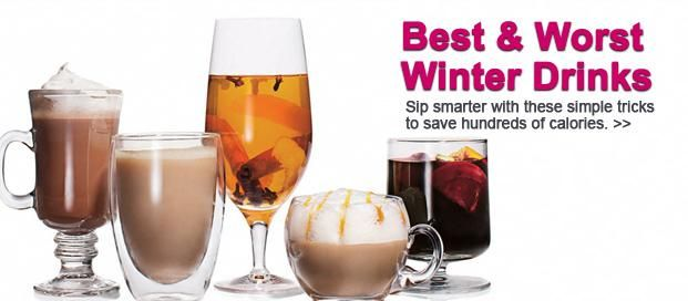 Hot Drinks for Cold Weather - The Best Low Calorie Hot Drinks for Cold ...