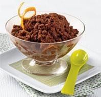 Dark Chocolate & Orange #Granita | What's for Dessert? | Pinterest