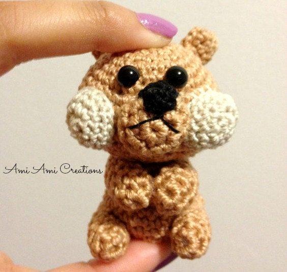 Crochet Amigurumi Squirrel : Amigurumi Squirrel - Crochet Animal Plush