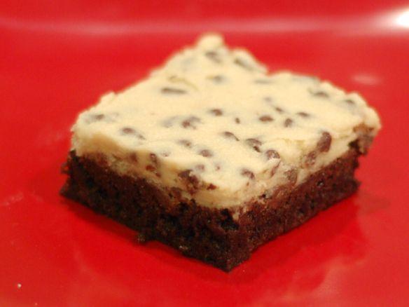 Cookie dough topped Brownies | Dessert: Brownies & Bars | Pinterest