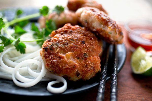 Vietnamese-Style Crispy Shrimp Cakes | Recipe