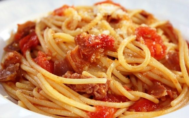 Bucatini all'Amatriciana | ♥QUICK AND EASY RECIPES♥ | Pinterest
