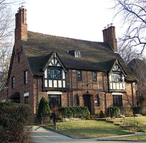 Tudor style house tudor style architecture and details for Brick style homes