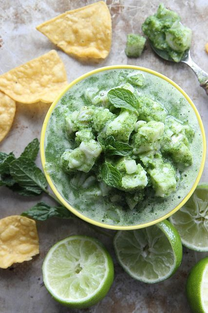 Mint and Lime Ceviche