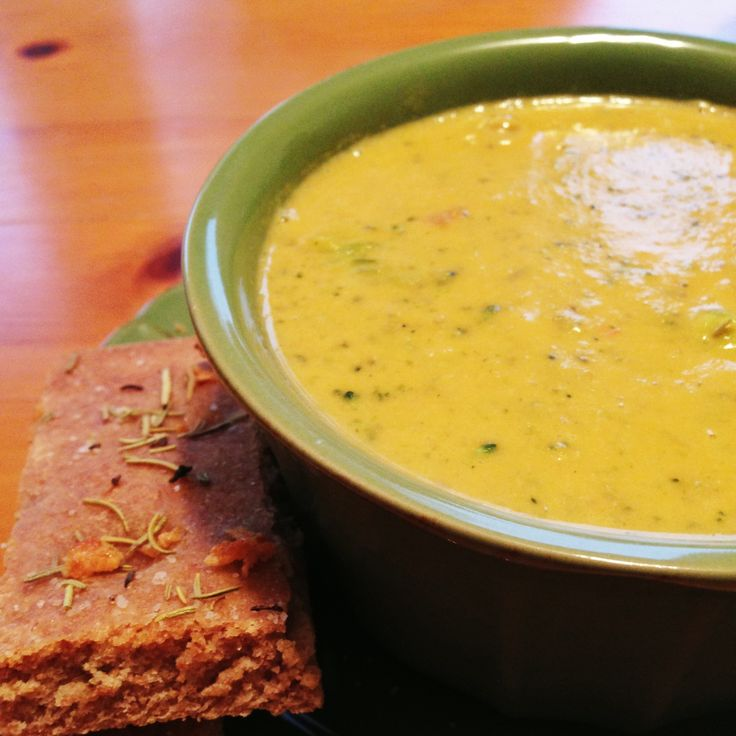 Vegan Cream of Broccoli Soup | Soup | Pinterest